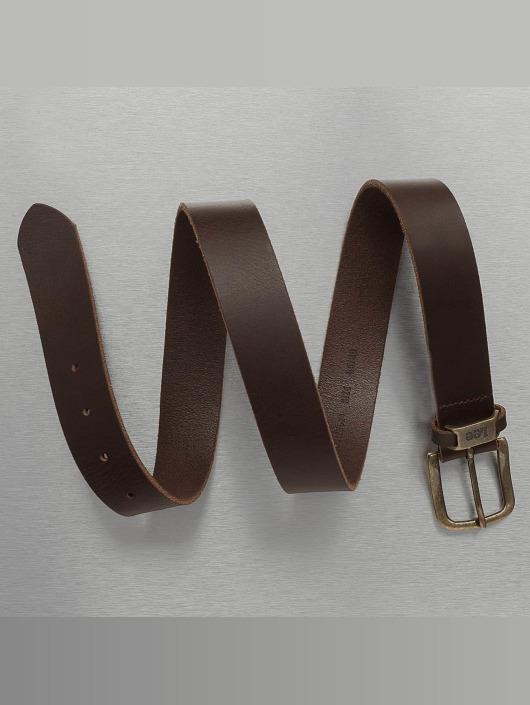 Lee Belt Logo brown