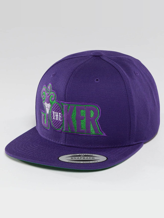 Merchcode Snapback Cap Joker purple