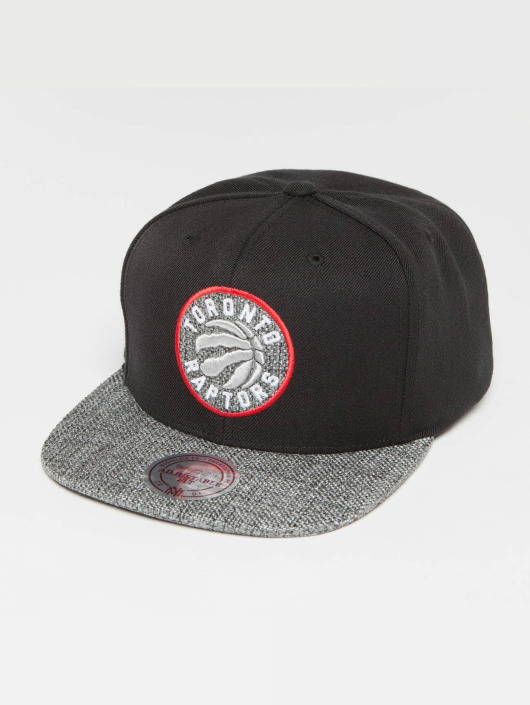 Mitchell & Ness Snapback Cap Woven TC NBA Toronto Raptors black