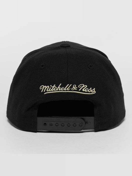 Mitchell & Ness Snapback Cap Raised Perimeter Own black