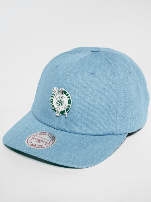 Mitchell & Ness Snapback Cap HWC Bosten Celtics Denim Pin Strapback blue