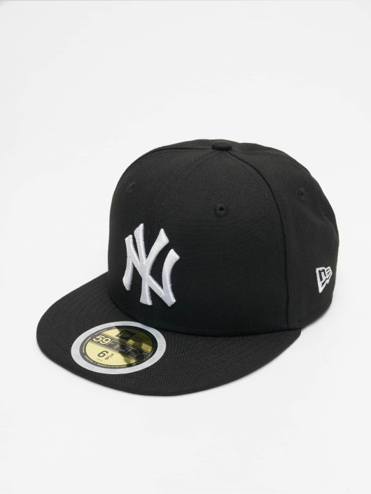 New Era Fitted Cap Kids MLB League Basic NY Yankees black