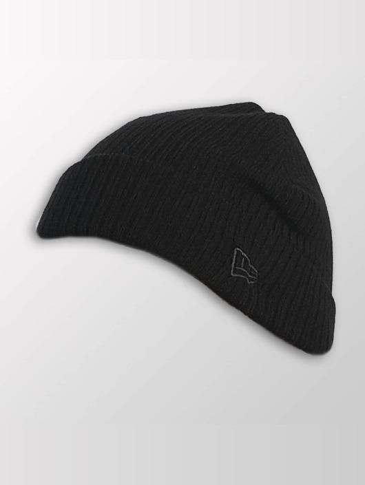 New Era Hat-1 Lightweight Cuff Knit black