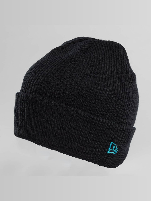 New Era Hat-1 New Era Flag Pop Cuff Beanie blue