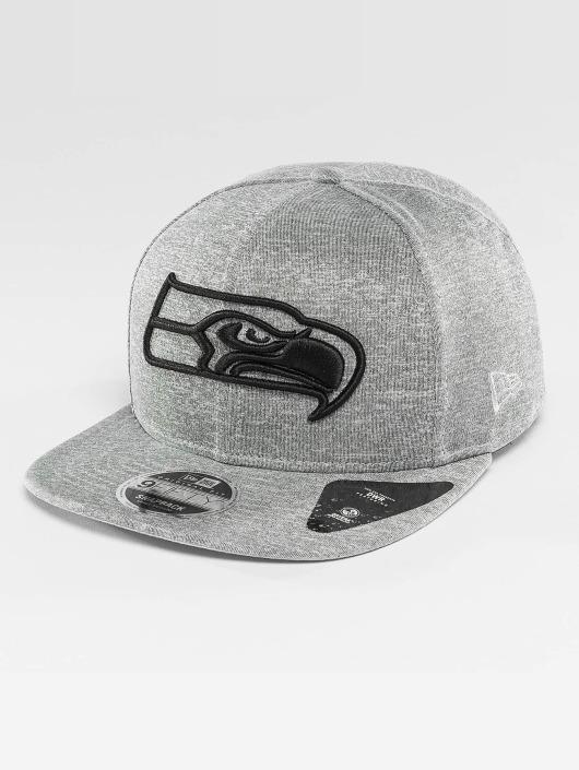 New Era Snapback Cap Jersey Tech Seattle Seahawks 9Fifty gray