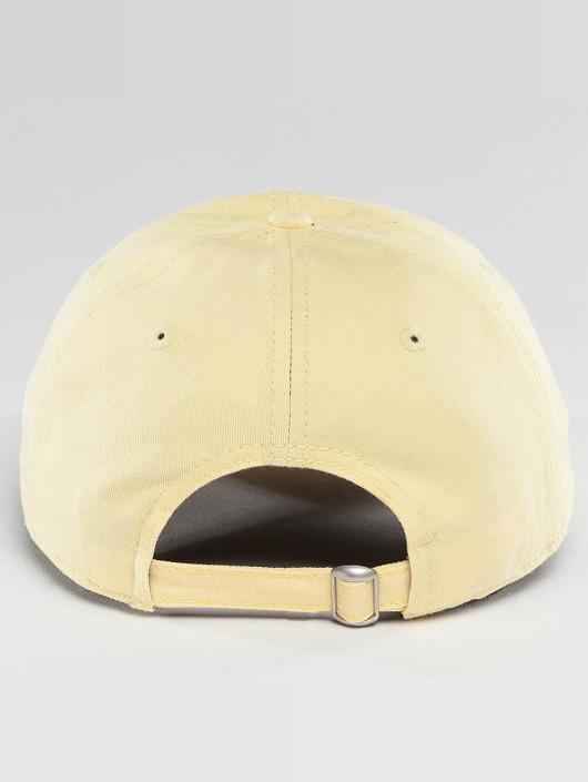 New Era Snapback Cap Pastel Micro NY Yankees 9Twenty yellow