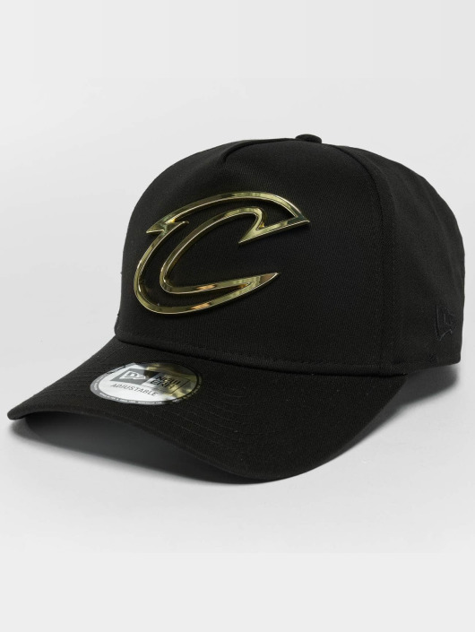 New Era Trucker Cap Metal Badge Cleveland Cavaliers A-Frame black
