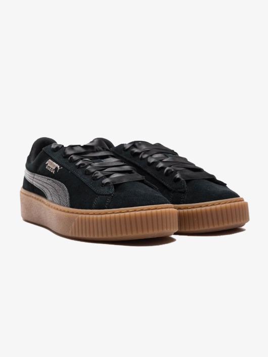 Puma Sneakers Suede Platform black