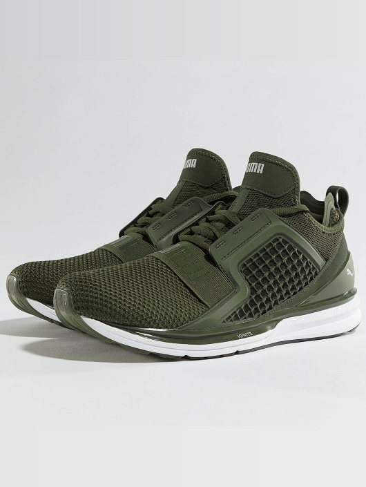 Puma Sneakers Ignite Limitless Weave green