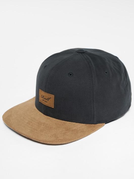 Reell Jeans Snapback Cap Suede black