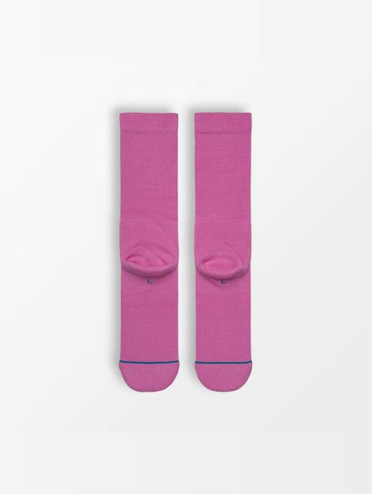 Stance Socks Icon pink