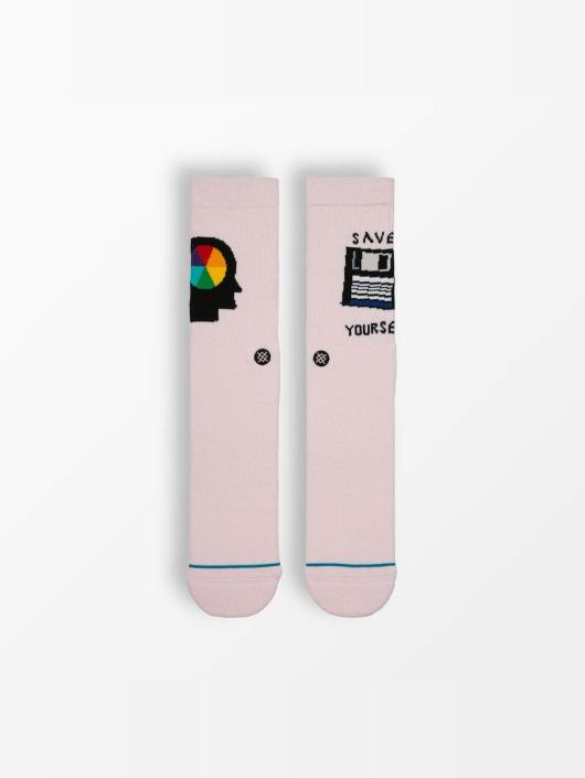 Stance Socks Save Yourself pink