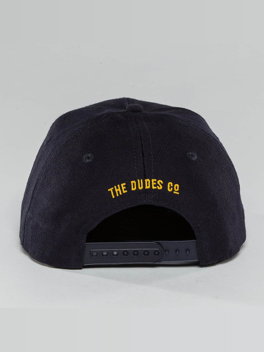 The Dudes Snapback Cap Unathletics Doods blue