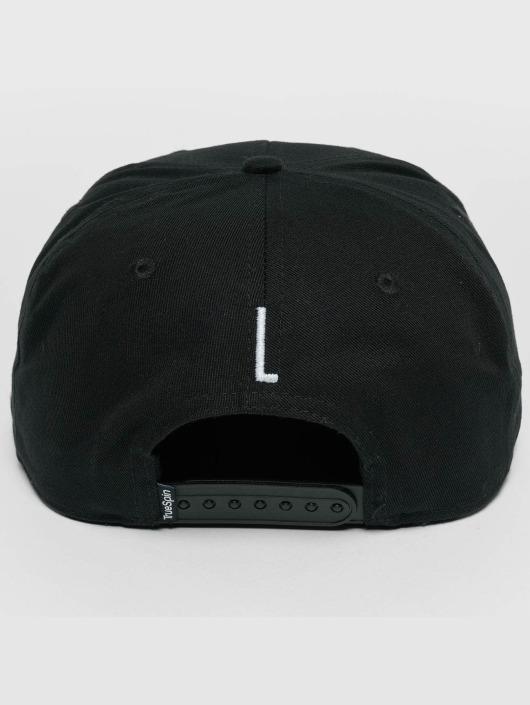 TrueSpin Snapback Cap ABC L black