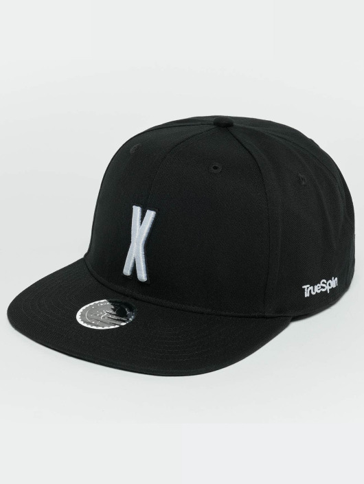 TrueSpin Snapback Cap ABC X black