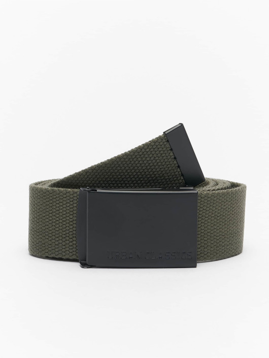 Urban Classics Belt Canvas olive