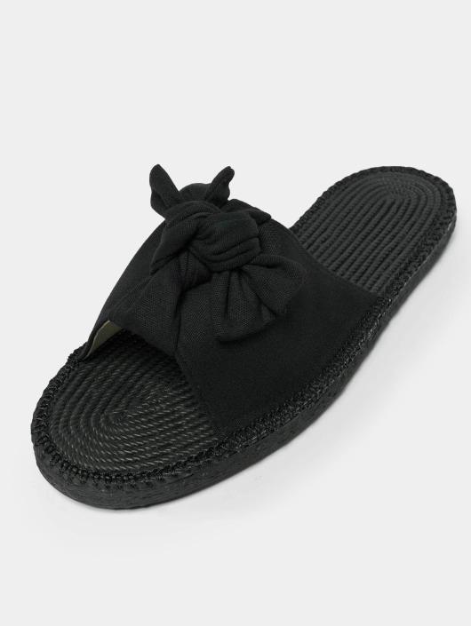 Urban Classics Sandals Canvas Mules black