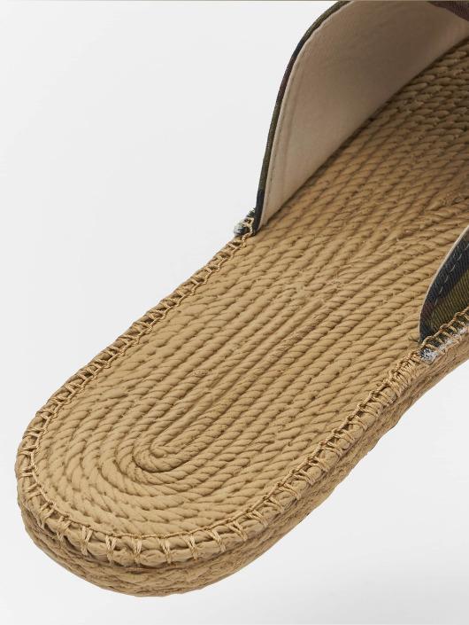 Urban Classics Sandals Canvas Mules camouflage