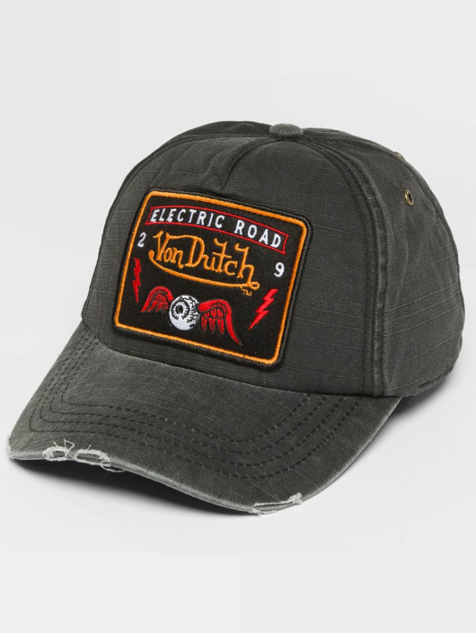 Von Dutch Snapback Cap Velcro black