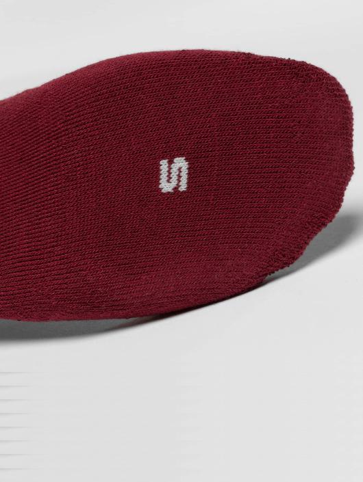 Nike Socks 3-Pack Footie red
