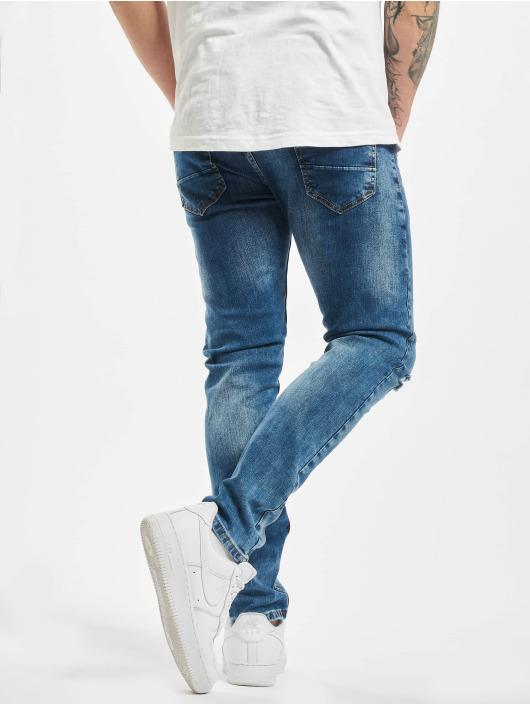 Aarhon Slim Fit Jeans Sprinkle blue