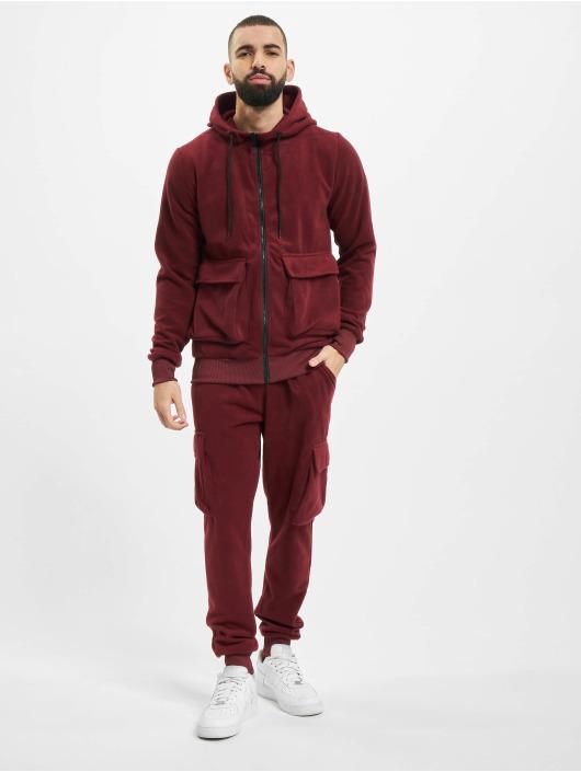 Aarhon Suits Fleece red