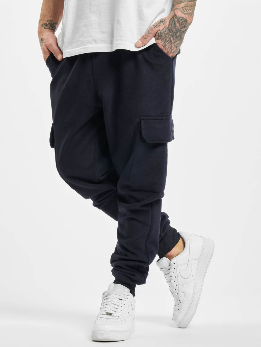 Aarhon Sweat Pant Cargo blue