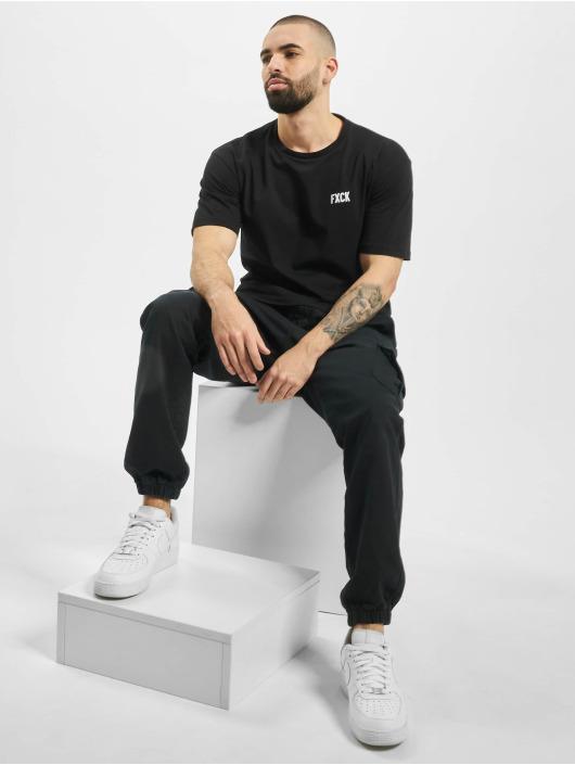 Aarhon T-Shirt Fxck black