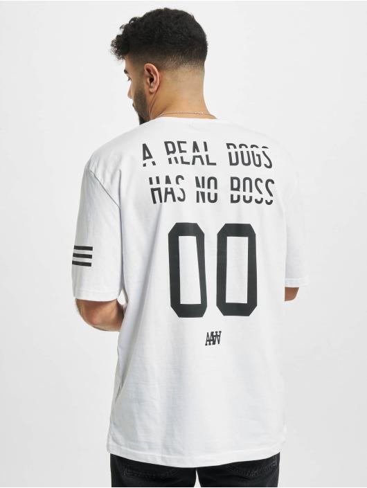 Aarhon T-Shirt Backprint white