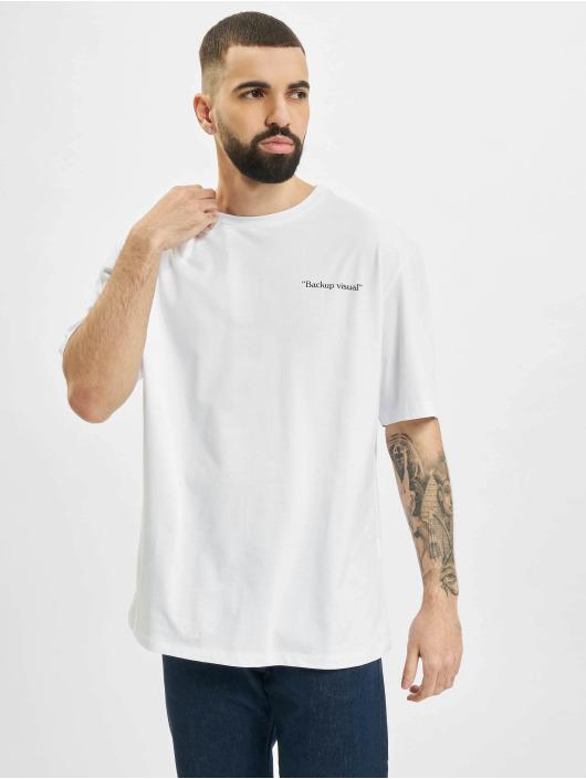 Aarhon T-Shirt Visual white