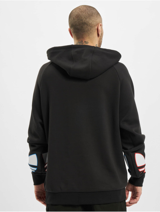 adidas Originals Hoodie Tricolor black