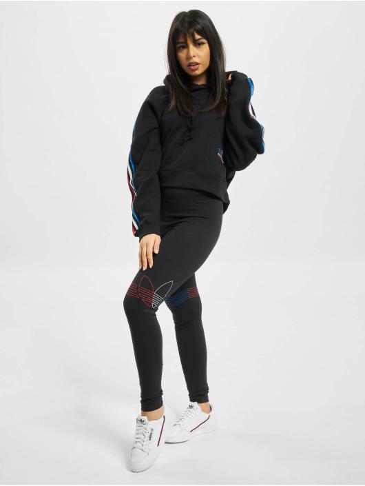 adidas Originals Leggings/Treggings Tricolor black