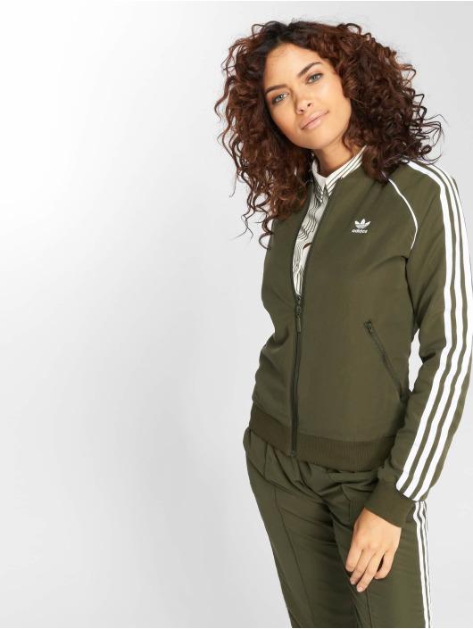 adidas originals Lightweight Jacket Sst Tt Transition olive