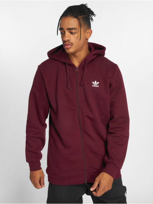 adidas Originals Lightweight Jacket Trf Flc Hoodie red