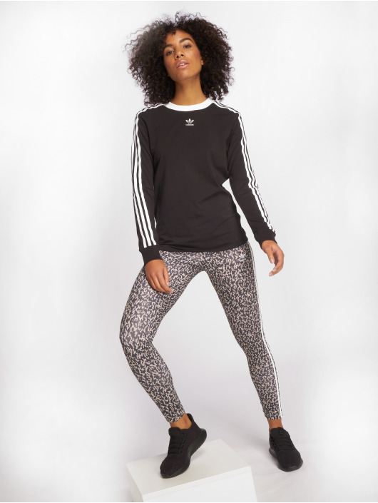 adidas originals Longsleeve originals 3 Stripes black