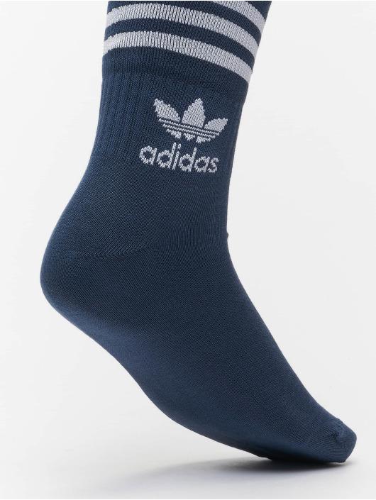 adidas Originals Socks 3 Pack Mix blue