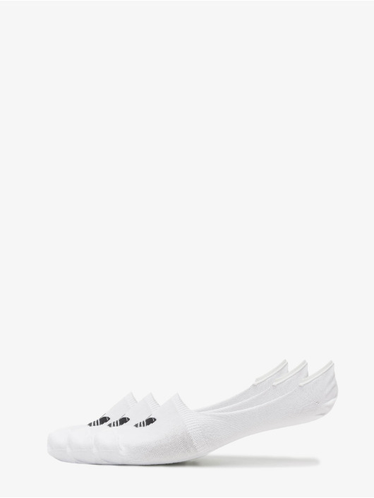 adidas Originals Socks No Show white
