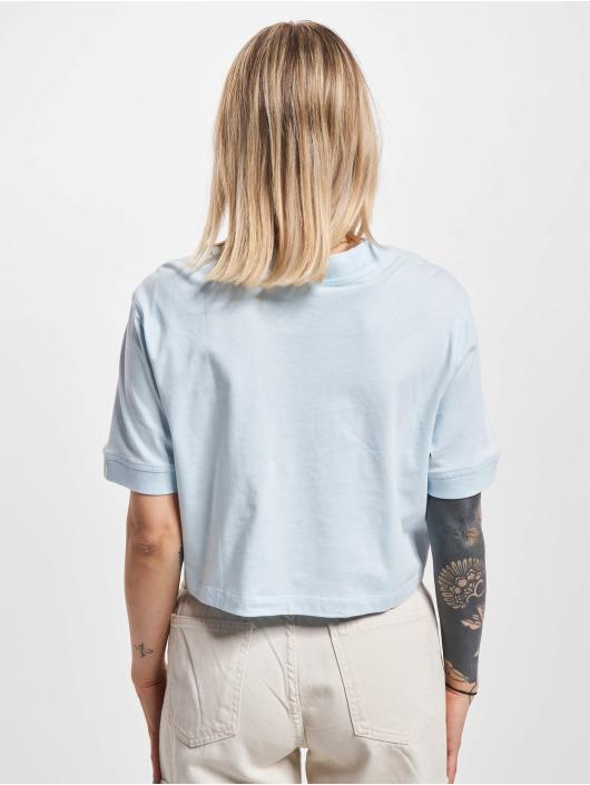 adidas Originals T-Shirt Cropped blue