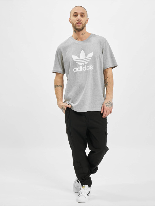adidas Originals T-Shirt Trefoil T gray