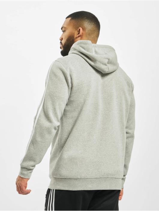 adidas Originals Zip Hoodie 3-Stripes Full gray