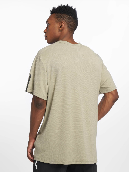 adidas Performance T-Shirt ID Storm 3 Stripes khaki