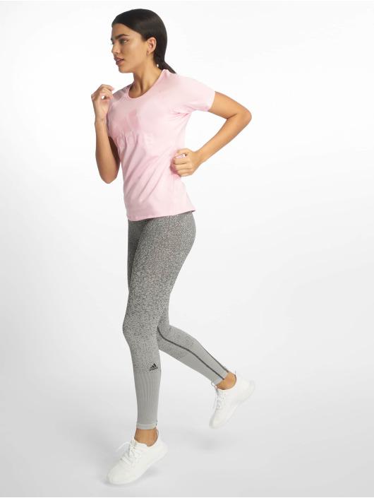 adidas Performance T-Shirt Training Logo pink