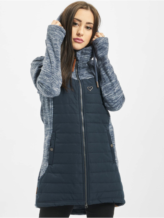 Alife & Kickin Lightweight Jacket Charlotte Downlook Fleece blue