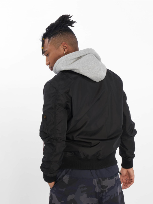 Alpha Industries Bomber jacket Ma-1 TT black