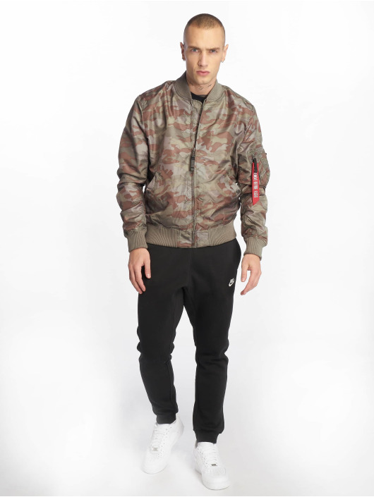 Alpha Industries Bomber jacket MA-1 TT camouflage
