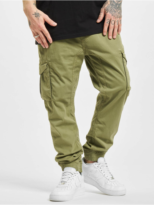 Alpha Industries Cargo pants Cotton Twill olive