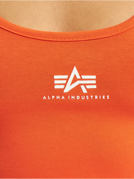 Alpha Industries Dress Basic Dress Small Logo Dress red