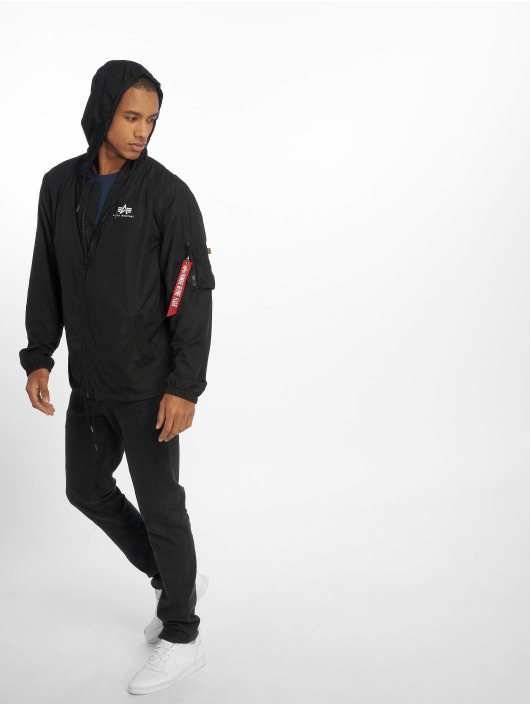 Alpha Industries Lightweight Jacket Backprint black