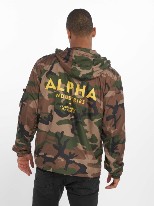 Alpha Industries Lightweight Jacket Camo 65 camouflage