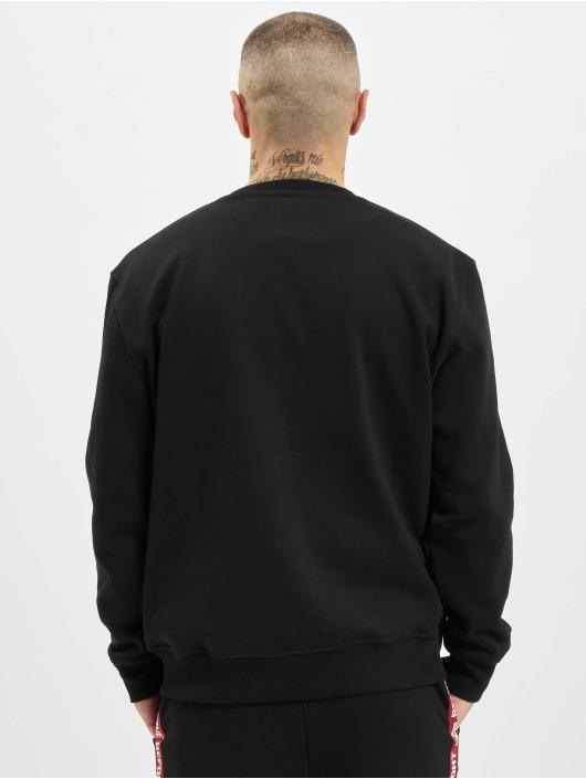 Alpha Industries Pullover Basic Small Logo Foil Print black